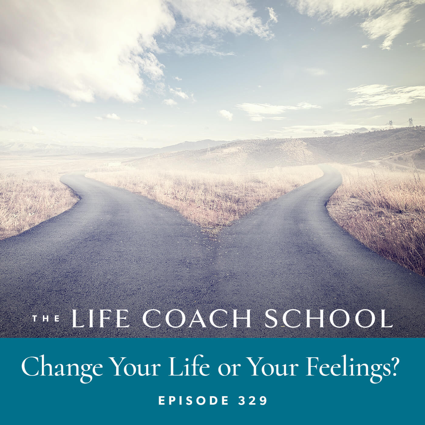 The Life Coach School Podcast with Brooke Castillo | Episode 329 | Change Your Life or Your Feelings?